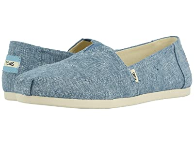 TOMS Alpargata CloudBound (Blue Slub Chambray) Women
