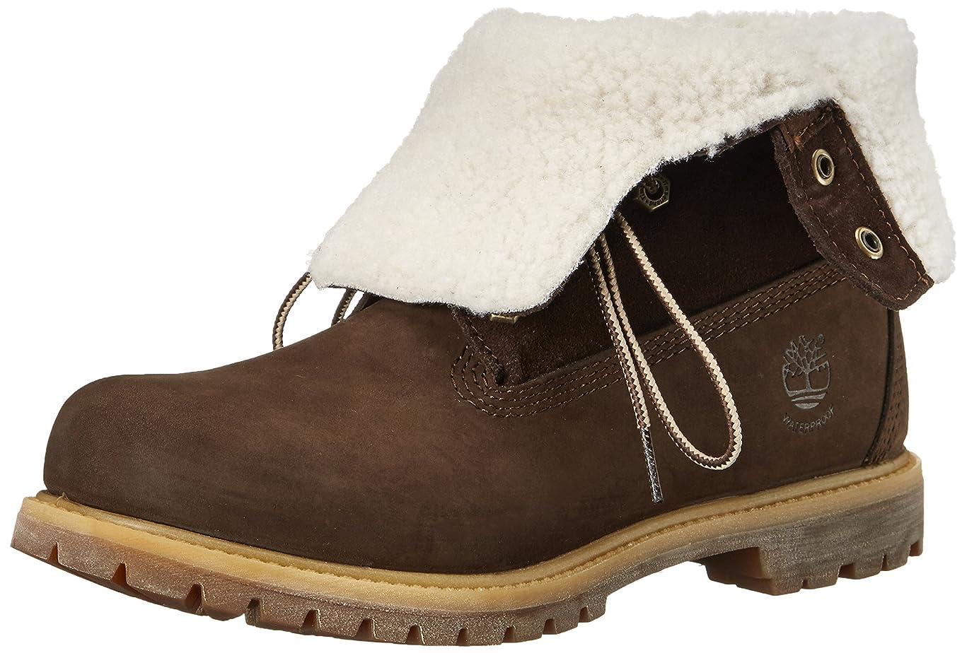 バンジョー包帯隙間[ティンバーランド] AUTHENTICS Teddy Fleece Waterproof Fold Down Boot