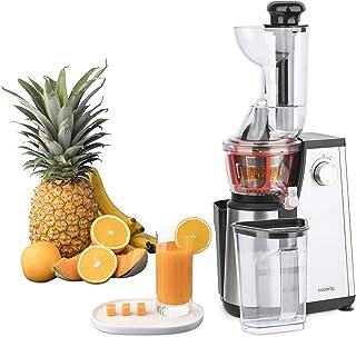 Extracteur de Jus de Fruits et Légumes vertical GSX24 H.Koenig Centrifugeuse Vitamin + sans BPA - 82 mm Large Bouche - 3 t...