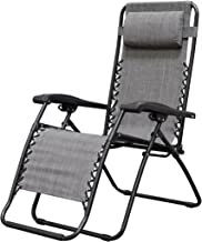 white infinity chair
