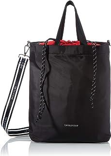 Denim TOM TAILOR bags ALEXIA Damen Rucksack M, mixed black, 40x15x40