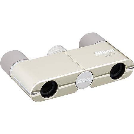 Nikon 双眼鏡 遊 4X10D CF ダハプリズム式 4倍10口径 シャンパンゴールド 4X10DCF (日本製)