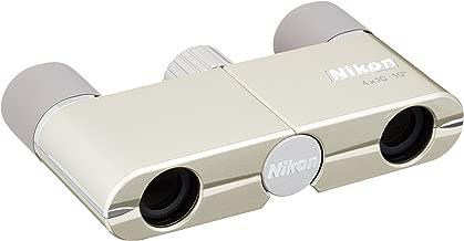 Nikon Binoculars Yu 4X10D CF Champaign Gold