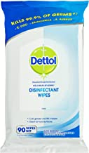 Dettol Antibacterial Disinfectant Wipes, 90 Wipes