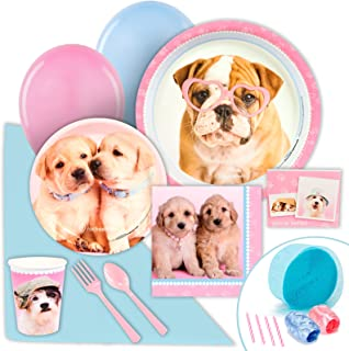 BirthdayExpress Rachael Hale Glamour Dogs Party Supplies - Value Party Pack