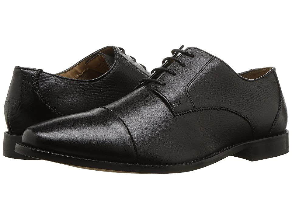 Florsheim Finley Cap-Toe Oxford (Black Tumbled) Men