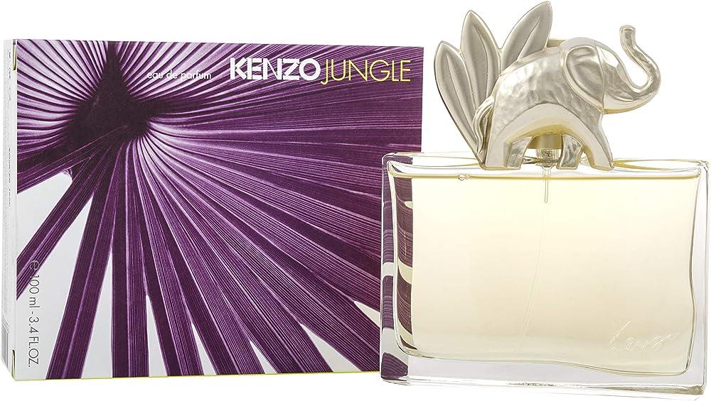 Kenzo, jungle, eau de parfum con vaporizzatore, 100 ml 10002449