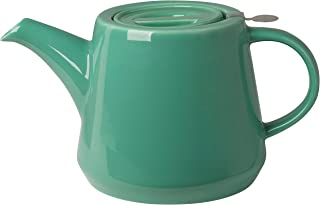London Pottery Hi-T Teapot with Stainless Steel Infuser, 4 Cup Capacity, Deep Green