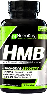 NutraKey HMB Capsules, 90 Count