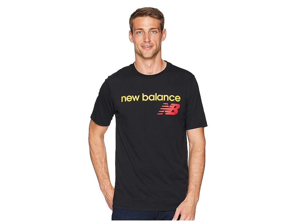 New Balance NB Athletics WC Tee (Black) Men