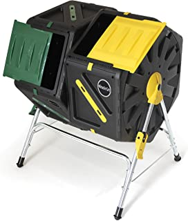 Miracle-Gro DC140 Tumbling Composter with Dual Chambers, 70 L
