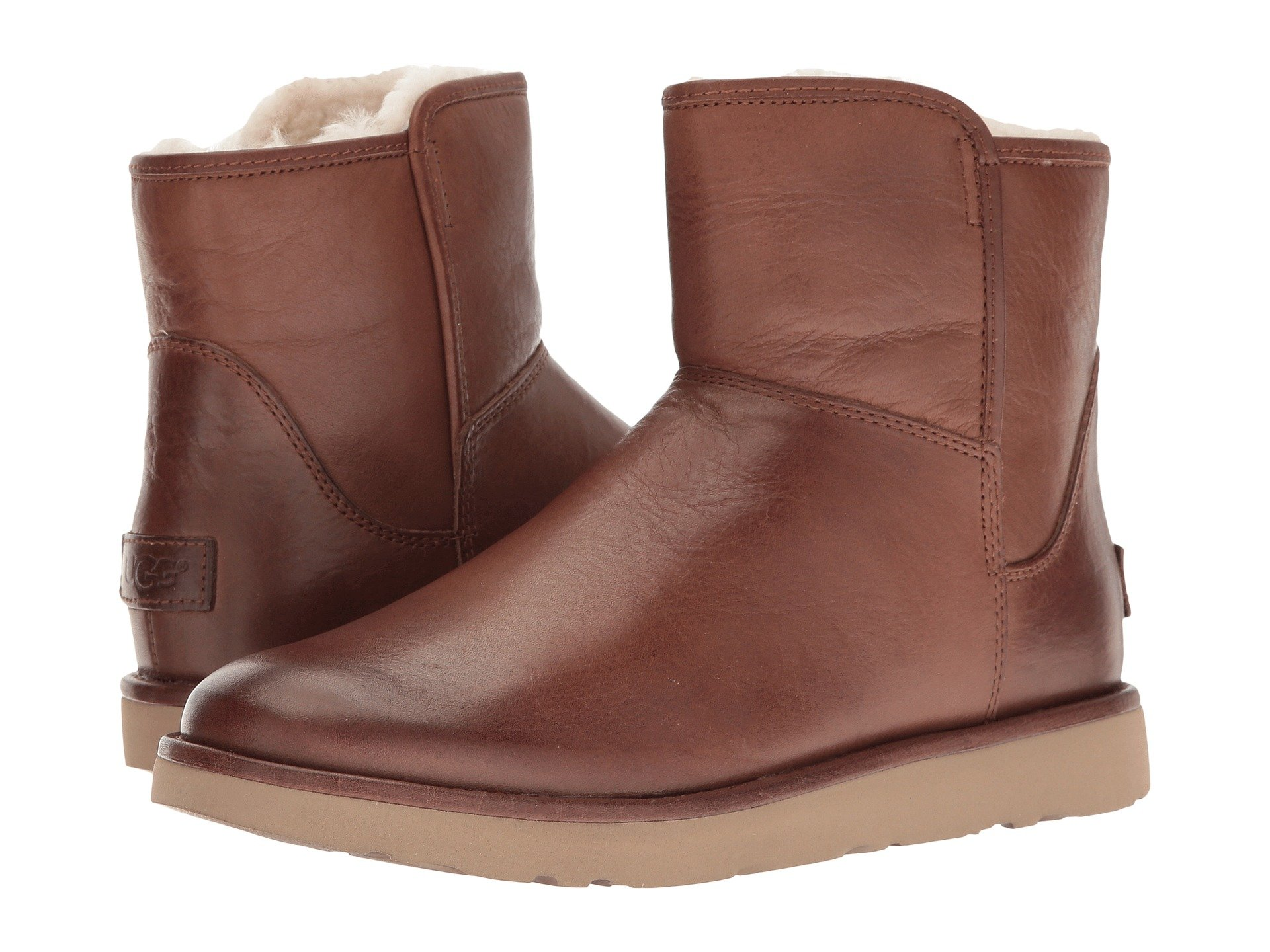 UGG Abree Mini Leather (Bruno) Women's Boots. On sale ...