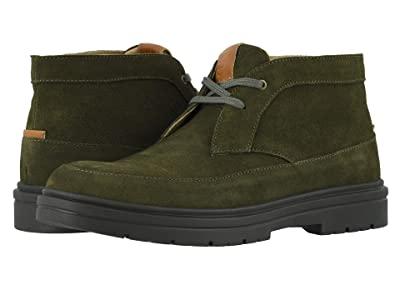 Stacy Adams Amherst Moc Toe Chukka Boot (Olive Suede) Men