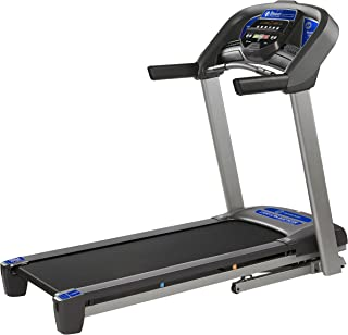 T101 Treadmill Series, Bluetooth enabled, folding treadmills, upgrade to the T202 for larger motor, app integration, and longer deck
