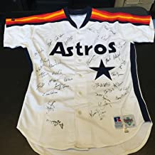 1993 Houston Astros Team Signed Game Model Jersey Jeff Bagwell Craig Biggio - JSA Certified - Autographed MLB Jerseys