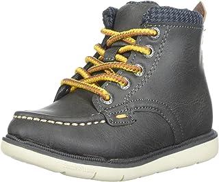 Step & Stride Kids Boy's Hunter High Top Lumberjack Boot Fashion