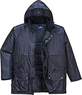 Portwest Perth Waterproof Jacket with Hood for Men