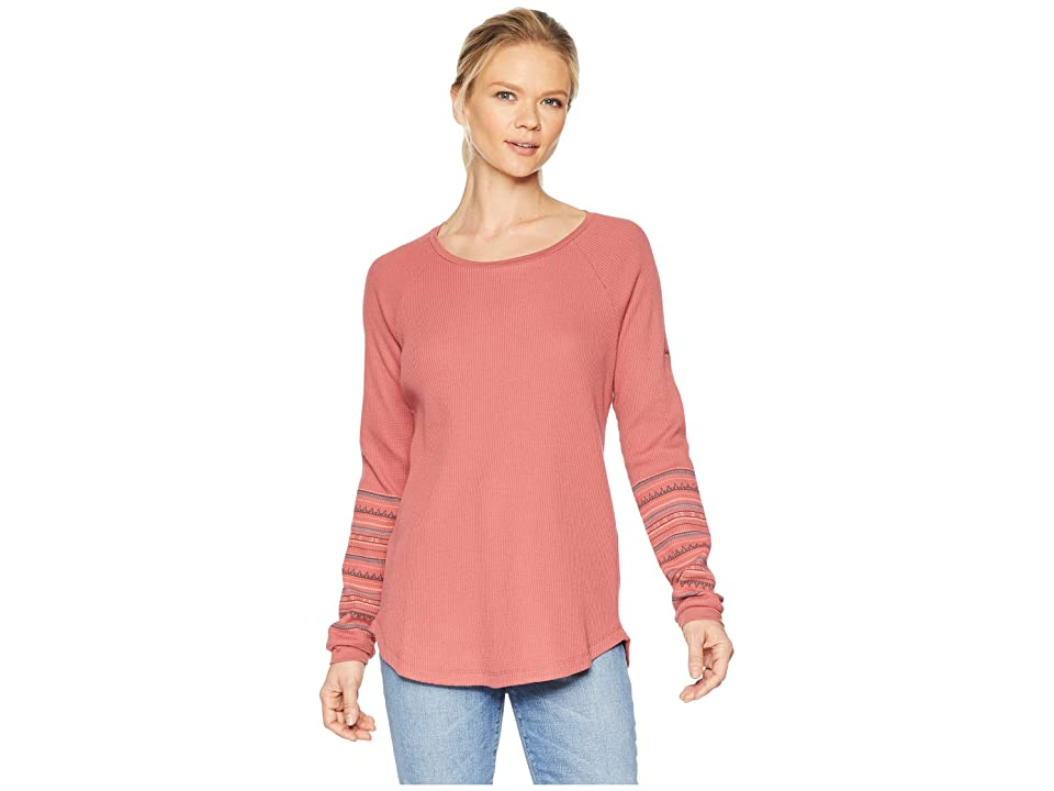 Columbia Along The Gorgetm Printed Crew (Rose Dust) Women