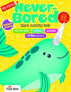 My First Never-Bored Giant Activity Book, Grades PreK-1