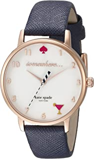 Kate Spade New York Stainless Steel & Leather Watch