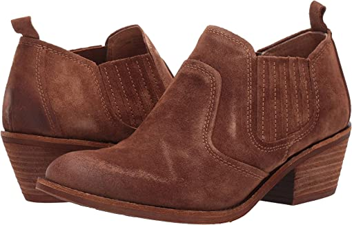 Light Brown Oiled Cow Suede