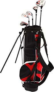 Kid's Right-Handed 8 Piece Golf Club Set - Nitro Blaster Kid's Golf Set - 31 Inch Graphite 15-Degree Regular with Bag 9-12 years