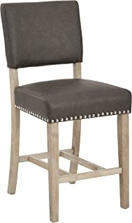 Ave Six Carson Counter Stool, Elite Pewter