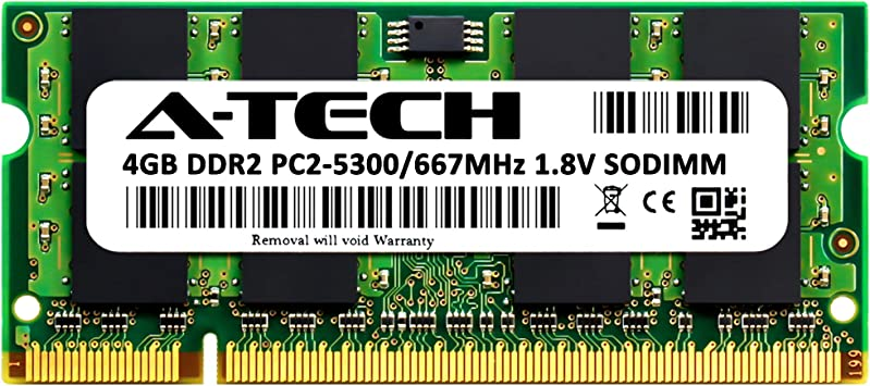 2GB DDR2-667 RAM Memory Upgrade for the Hi Grade Ultinote A9800SR 01 PC2-5300