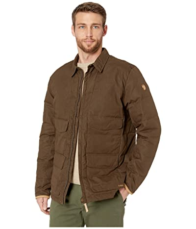 Fjallraven Sormland Down Shirt Jacket (Dark Olive) Men