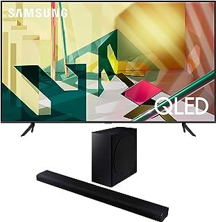 "Samsung QN85Q70TA 85"" 4K Ultra High Definition QLED Smart HDR TV with a Samsung HW-Q800T 3.1.2 Ch Dolby Atmos Soundbar and..."