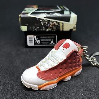 Air Jordan XIII 13 Retro BIN23 BIN Premio OG Sneakers Shoes 3D Keychain 1:6 Figure + Shoe Box