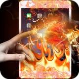 Fire Screen Transparent Prank