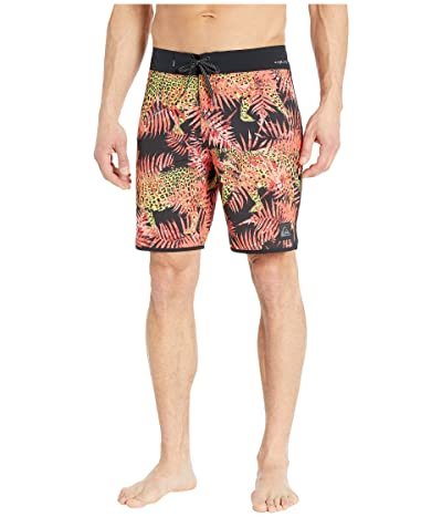 Quiksilver Highline Camocat 19 Boardshorts (Fiery Coral) Men