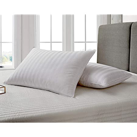 Wakewell Soft Fibre Pillow, 61 x 41 cm, White, Pack of 2 Pillow