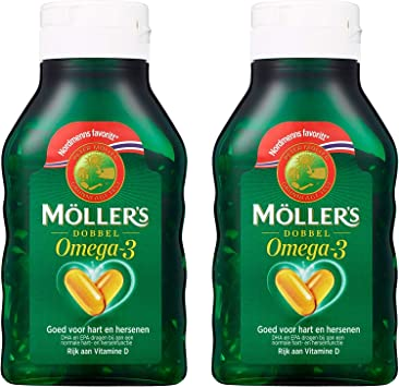 Oil mollers fish Omega 3