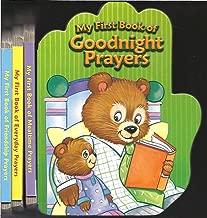 My First Book of Goodnight Prayers/Mealtime Prayers/Everyday Prayers/Friendship Prayers