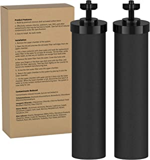 DEW FILTERS UK   BB9-2 Black Water Filter Purification Compatible Elements   Traveler, Nomad, King, Big Series and Doulton...