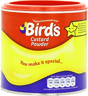 Bird's Custard Powder, 10.5 Ounce Canisters