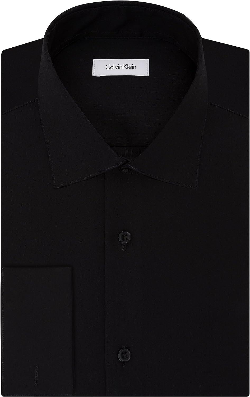 Calvin Klein Men's Reservation Dress Challenge the lowest price Shirt Non Iron Herringbone Regular Fit