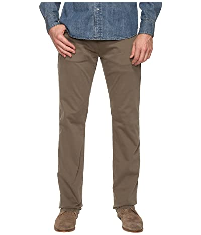 Mavi Jeans Zach Classic Straight Leg in Dusty Olive Twill (Dusty Olive Twill) Men