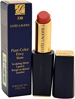 Estee Lauder Women's Pure Color Envy Shine Sculpting Lipstick, 330 Boudoir Baby, 0.1 Ounce