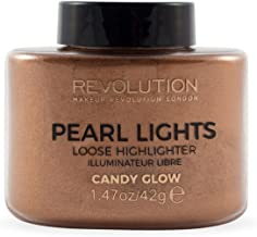 Make Up Revolution London Pearl Lights Loose Highlighter, Candy Glow, 25g