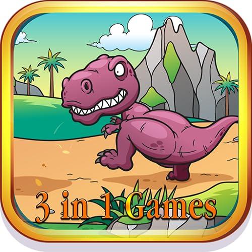 3 in 1 Dinosaurier Manie