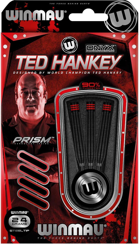 Winmau Ted Hankey The Count Darts Free Shipping Cheap Bargain Gift Tip Cheap bargain Onyx Black Steel