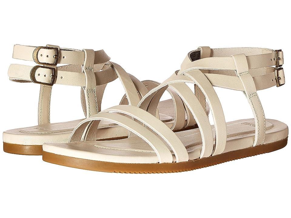 Teva Avalina Crossover Leather (White) Women