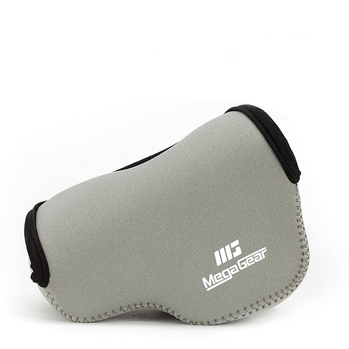 MegaGear ''Ultra Light'' Neoprene Camera Case Bag for Sony NEX-6, Sony NEX-7, Sony NEX-F3 with 16-50mm Lens (Gray)