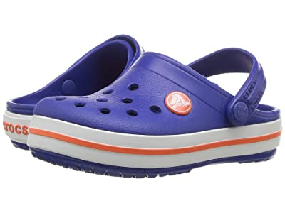 Crocs Kids Crocband Clog (Toddler/Little Kid) (Cerulean Blue) Kids Shoes