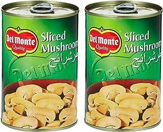 Del Monte Canned Sliced Mushrooms 400 gms (Pack of 2)