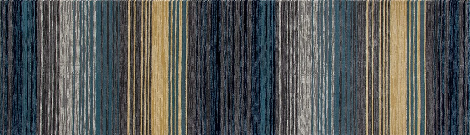 Art Carpet Bastille Max 67% OFF Collection Heathered Stripe Popularity Woven Are Border