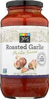 365 Everyday Value, Roasted Garlic Pasta Sauce, 25 oz